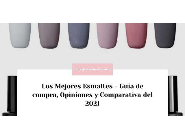 Los Mejores Esmaltes – Guía de compra, Opiniones y Comparativa del 2021 (España)