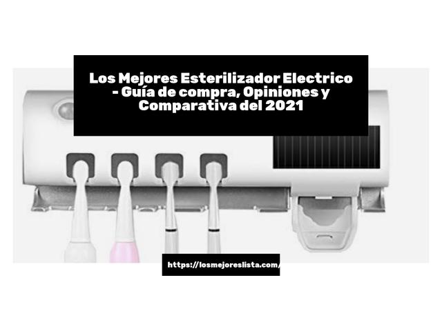 Los Mejores Esterilizador Electrico – Guía de compra, Opiniones y Comparativa del 2021 (España)