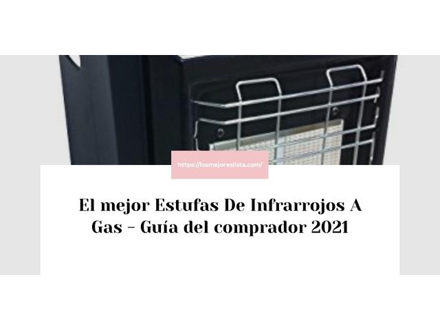 Los Mejores Estufas De Infrarrojos A Gas – Guía de compra, Opiniones y Comparativa del 2021 (España)