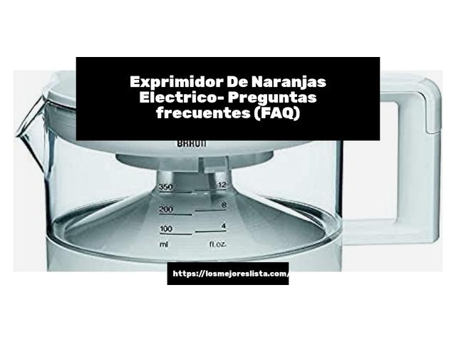 Los Mejores Exprimidor De Naranjas Electrico – Guía de compra, Opiniones y Comparativa del 2021 (España)