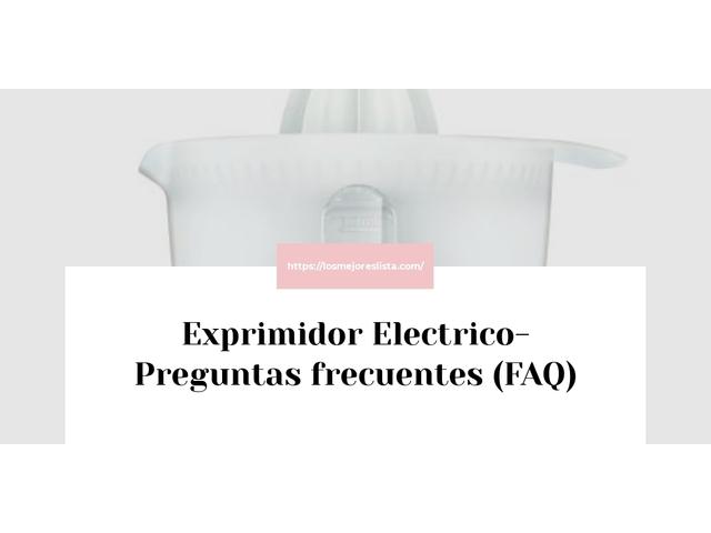 Los Mejores Exprimidor Electrico – Guía de compra, Opiniones y Comparativa del 2021 (España)