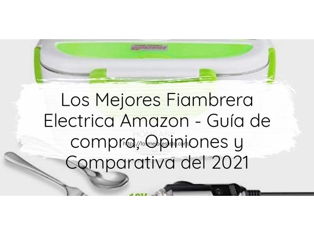 Los Mejores Fiambrera Electrica Amazon – Guía de compra, Opiniones y Comparativa del 2021 (España)