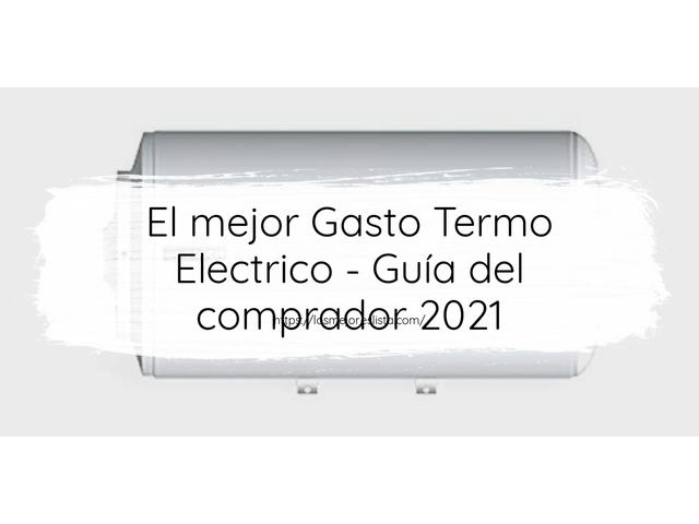 Los Mejores Gasto Termo Electrico – Guía de compra, Opiniones y Comparativa del 2021 (España)