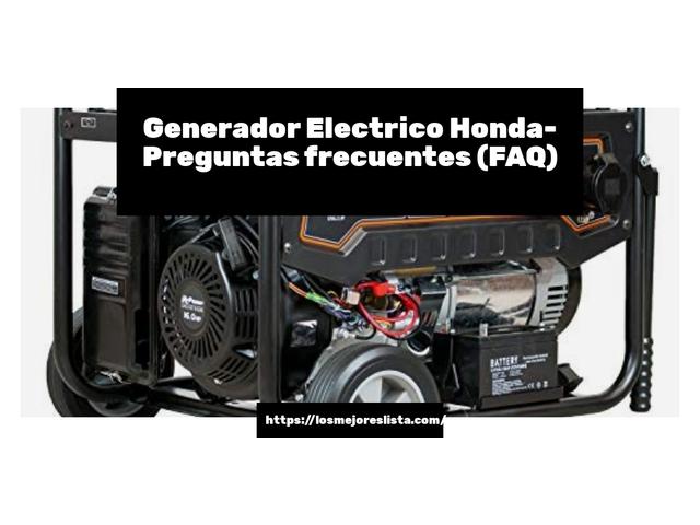 Los Mejores Generador Electrico Honda – Guía de compra, Opiniones y Comparativa del 2021 (España)
