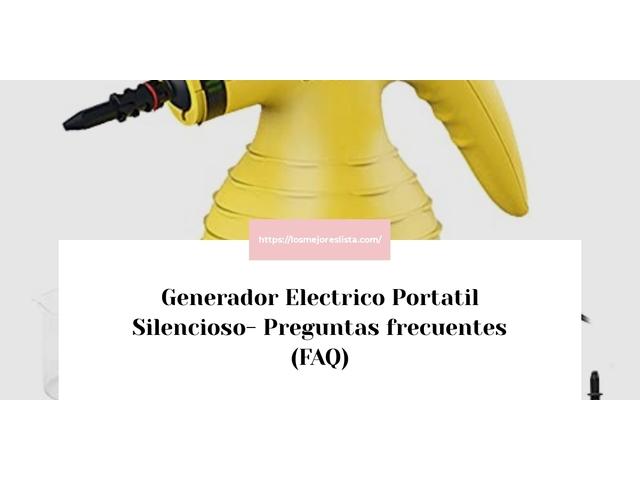 Los Mejores Generador Electrico Portatil Silencioso – Guía de compra, Opiniones y Comparativa del 2021 (España)