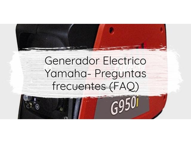 Los Mejores Generador Electrico Yamaha – Guía de compra, Opiniones y Comparativa del 2021 (España)