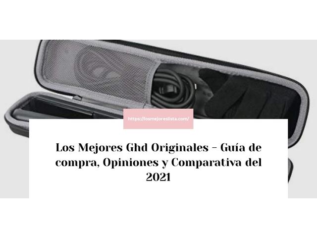 Los Mejores Ghd Originales – Guía de compra, Opiniones y Comparativa del 2021 (España)