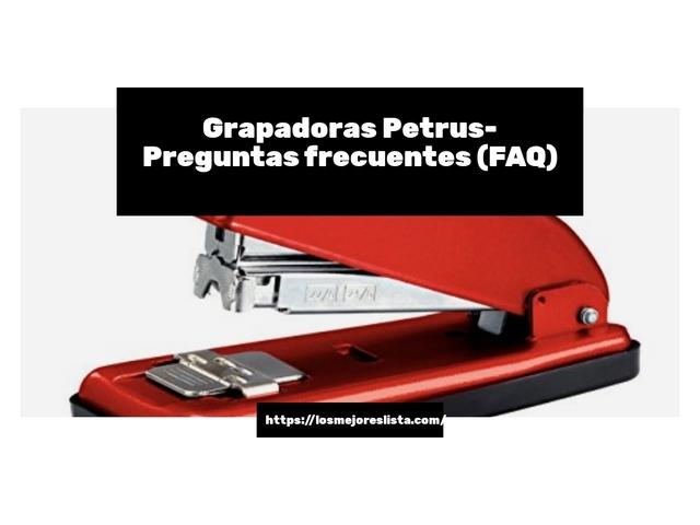 Los Mejores Grapadoras Petrus – Guía de compra, Opiniones y Comparativa del 2021 (España)