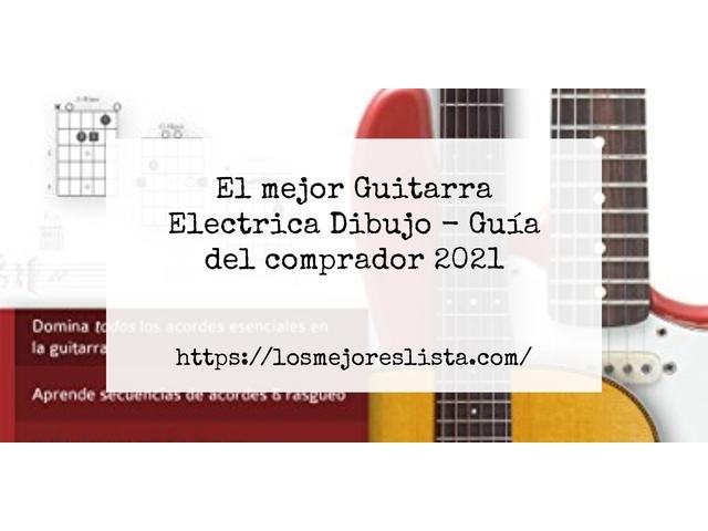 Los Mejores Guitarra Electrica Dibujo – Guía de compra, Opiniones y Comparativa del 2021 (España)