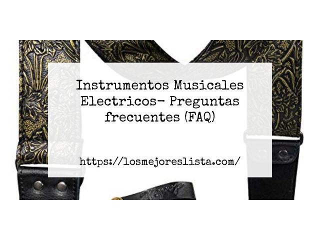 Los Mejores Instrumentos Musicales Electricos – Guía de compra, Opiniones y Comparativa del 2021 (España)