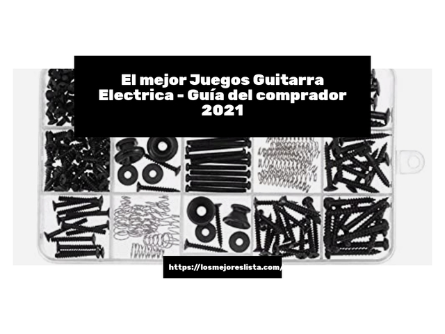 Los Mejores Juegos Guitarra Electrica – Guía de compra, Opiniones y Comparativa del 2021 (España)