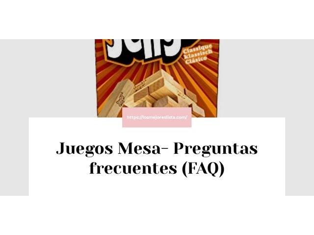 Los Mejores Juegos Mesa – Guía de compra, Opiniones y Comparativa del 2021 (España)