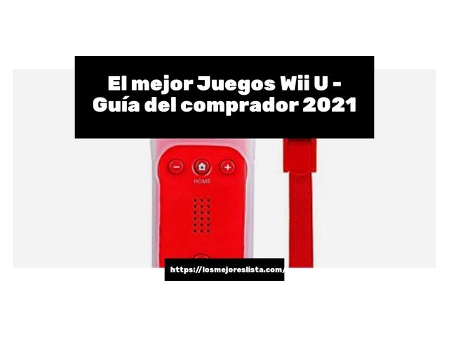 Los Mejores Juegos Wii U – Guía de compra, Opiniones y Comparativa del 2021 (España)
