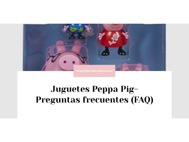 Los Mejores Juguetes Peppa Pig – Guía de compra, Opiniones y Comparativa del 2021 (España)