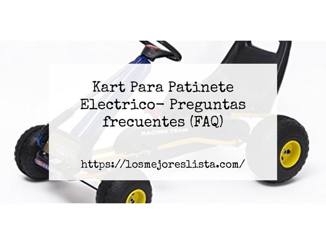 Los Mejores Kart Para Patinete Electrico – Guía de compra, Opiniones y Comparativa del 2021 (España)