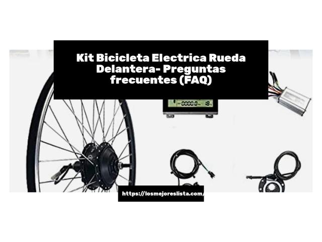 Los Mejores Kit Bicicleta Electrica Rueda Delantera – Guía de compra, Opiniones y Comparativa del 2021 (España)