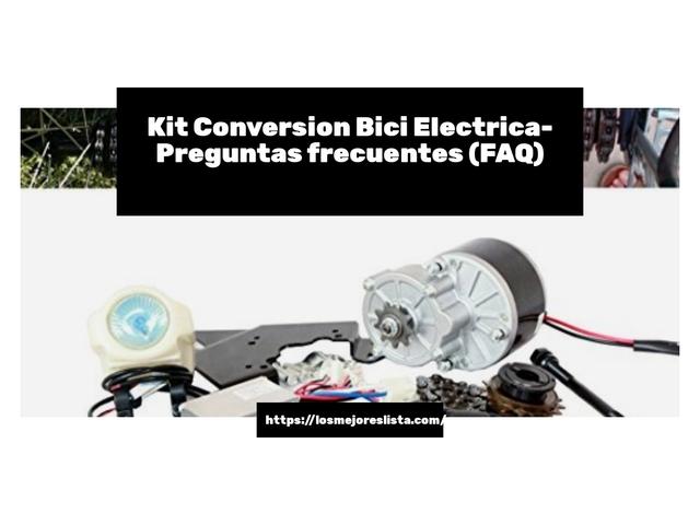 Los Mejores Kit Conversion Bici Electrica – Guía de compra, Opiniones y Comparativa del 2021 (España)