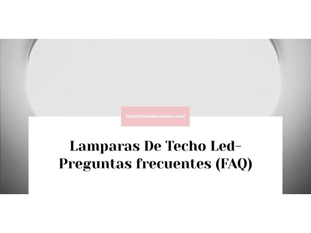 Los Mejores Lamparas De Techo Led – Guía de compra, Opiniones y Comparativa del 2021 (España)