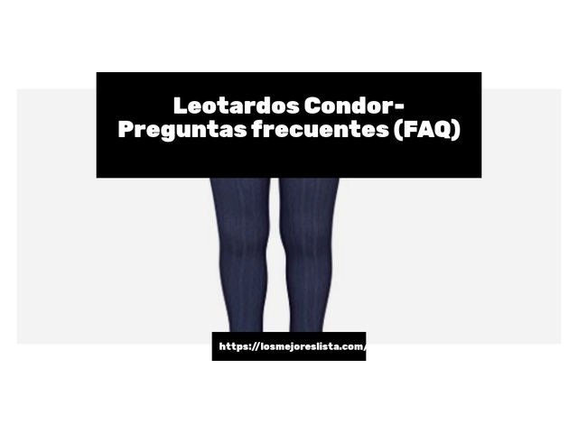 Los Mejores Leotardos Condor – Guía de compra, Opiniones y Comparativa del 2021 (España)