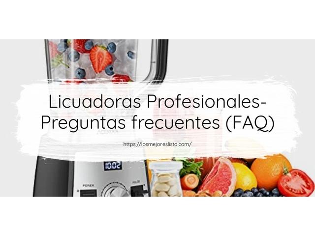 Los Mejores Licuadoras Profesionales – Guía de compra, Opiniones y Comparativa del 2021 (España)