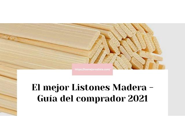 Los Mejores Listones Madera – Guía de compra, Opiniones y Comparativa del 2021 (España)