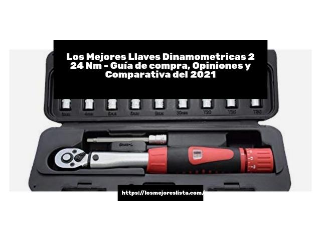 Los Mejores Llaves Dinamometricas 2 24 Nm – Guía de compra, Opiniones y Comparativa del 2021 (España)