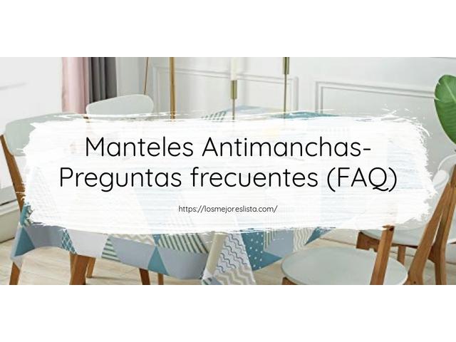 Los Mejores Manteles Antimanchas – Guía de compra, Opiniones y Comparativa del 2021 (España)