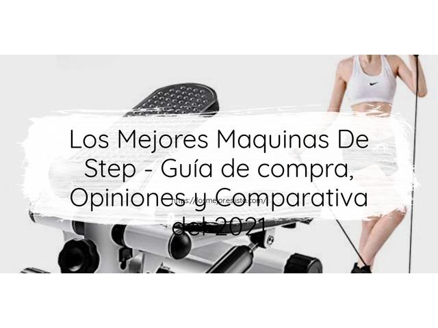 Los Mejores Maquinas De Step – Guía de compra, Opiniones y Comparativa del 2021 (España)