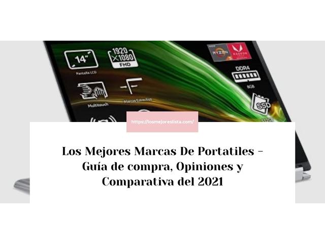Los Mejores Marcas De Portatiles – Guía de compra, Opiniones y Comparativa del 2021 (España)