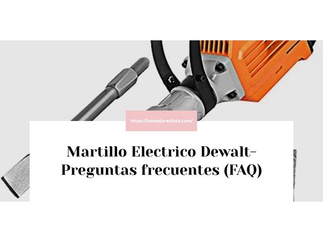 Los Mejores Martillo Electrico Dewalt – Guía de compra, Opiniones y Comparativa del 2021 (España)