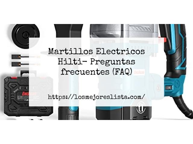 Los Mejores Martillos Electricos Hilti – Guía de compra, Opiniones y Comparativa del 2021 (España)