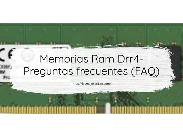 Los Mejores Memorias Ram Drr4 – Guía de compra, Opiniones y Comparativa del 2021 (España)