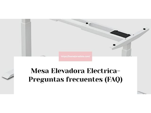 Los Mejores Mesa Elevadora Electrica – Guía de compra, Opiniones y Comparativa del 2021 (España)