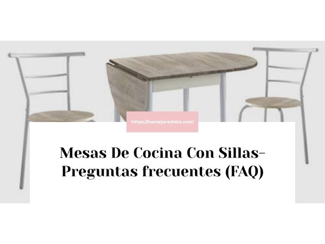 Los Mejores Mesas De Cocina Con Sillas – Guía de compra, Opiniones y Comparativa del 2021 (España)