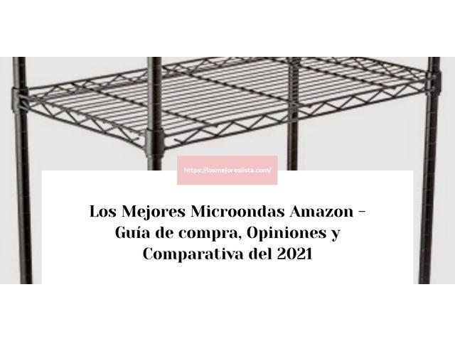Los Mejores Microondas Amazon – Guía de compra, Opiniones y Comparativa del 2021 (España)