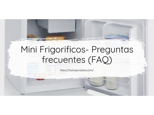 Los Mejores Mini Frigorificos – Guía de compra, Opiniones y Comparativa del 2021 (España)
