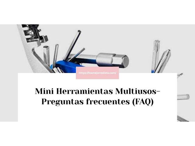 Los Mejores Mini Herramientas Multiusos – Guía de compra, Opiniones y Comparativa del 2021 (España)