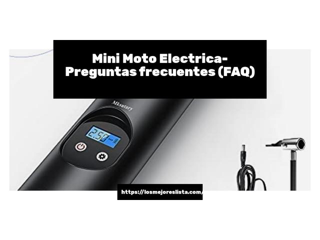 Los Mejores Mini Moto Electrica – Guía de compra, Opiniones y Comparativa del 2021 (España)