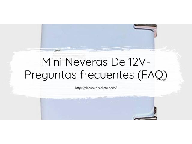 Los Mejores Mini Neveras De 12V – Guía de compra, Opiniones y Comparativa del 2021 (España)