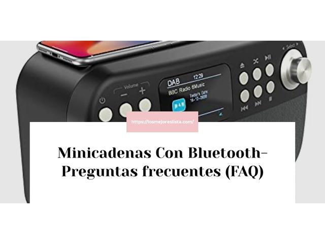 Los Mejores Minicadenas Con Bluetooth – Guía de compra, Opiniones y Comparativa del 2021 (España)