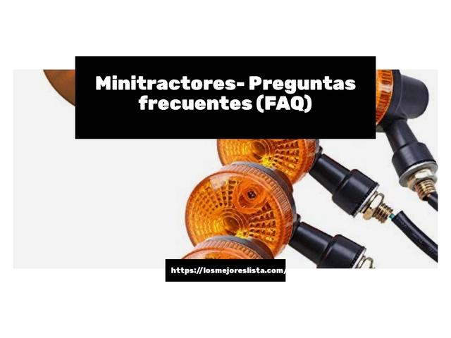 Los Mejores Minitractores – Guía de compra, Opiniones y Comparativa del 2021 (España)