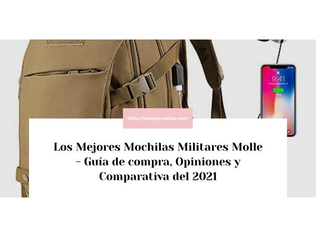 Los Mejores Mochilas Militares Molle – Guía de compra, Opiniones y Comparativa del 2021 (España)