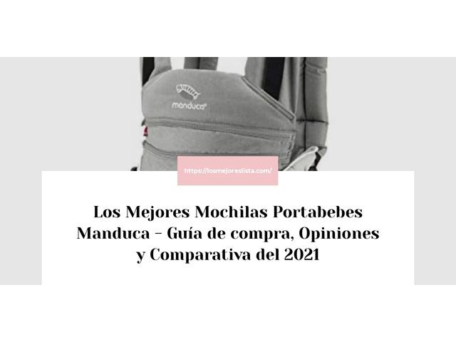 Los Mejores Mochilas Portabebes Manduca – Guía de compra, Opiniones y Comparativa del 2021 (España)