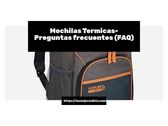 Los Mejores Mochilas Termicas – Guía de compra, Opiniones y Comparativa del 2021 (España)