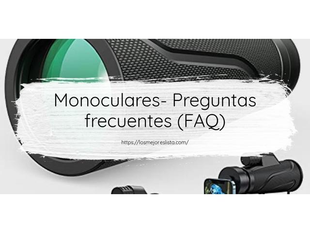 Los Mejores Monoculares – Guía de compra, Opiniones y Comparativa del 2021 (España)