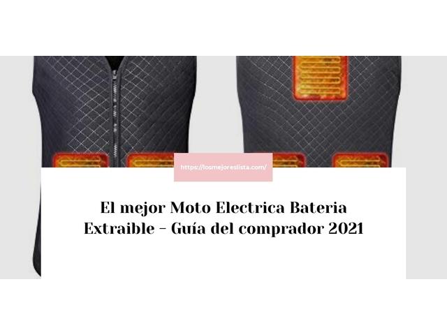 Los Mejores Moto Electrica Bateria Extraible – Guía de compra, Opiniones y Comparativa del 2021 (España)