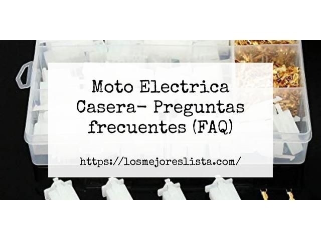 Los Mejores Moto Electrica Casera – Guía de compra, Opiniones y Comparativa del 2021 (España)