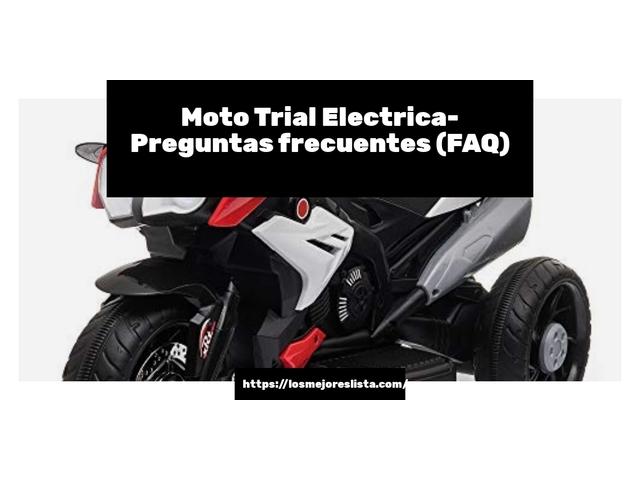 Los Mejores Moto Trial Electrica – Guía de compra, Opiniones y Comparativa del 2021 (España)