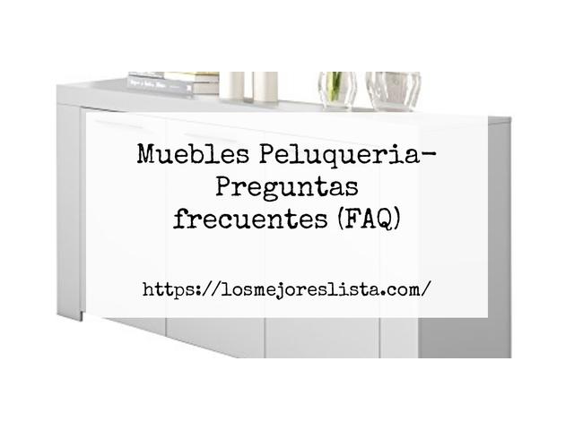 Los Mejores Muebles Peluqueria – Guía de compra, Opiniones y Comparativa del 2021 (España)