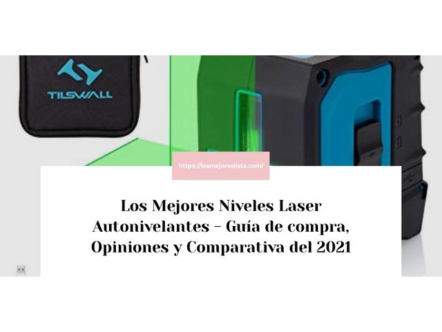 Los Mejores Niveles Laser Autonivelantes – Guía de compra, Opiniones y Comparativa del 2021 (España)